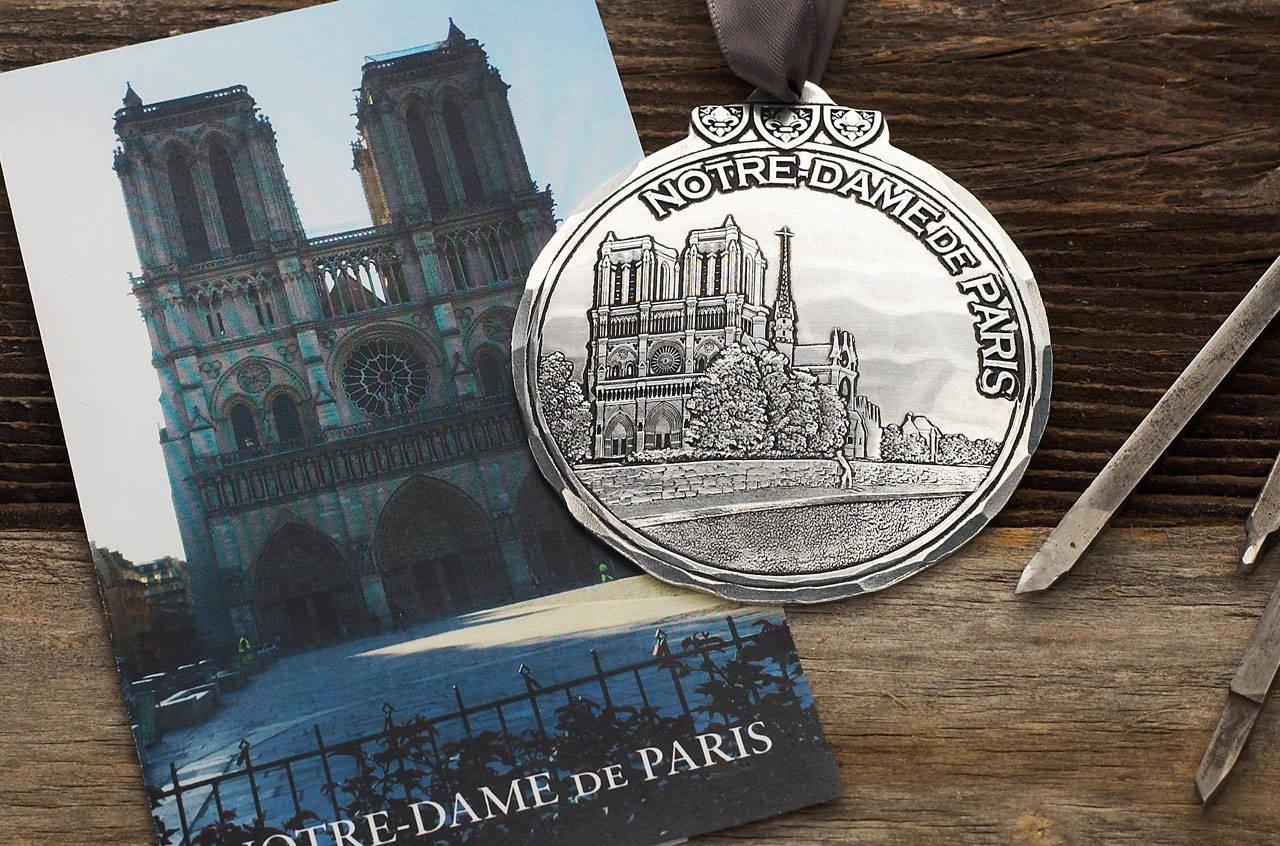 Notre Dame de Paris Ornament