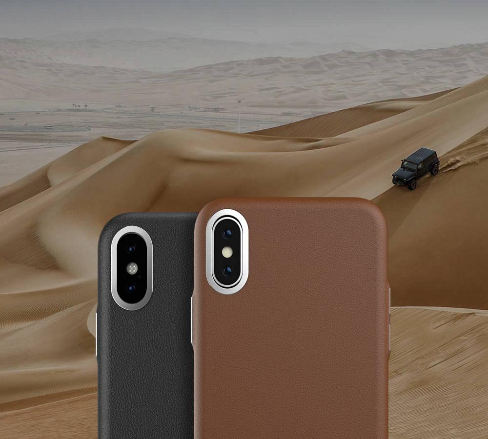 Premium Leather iPhone Case