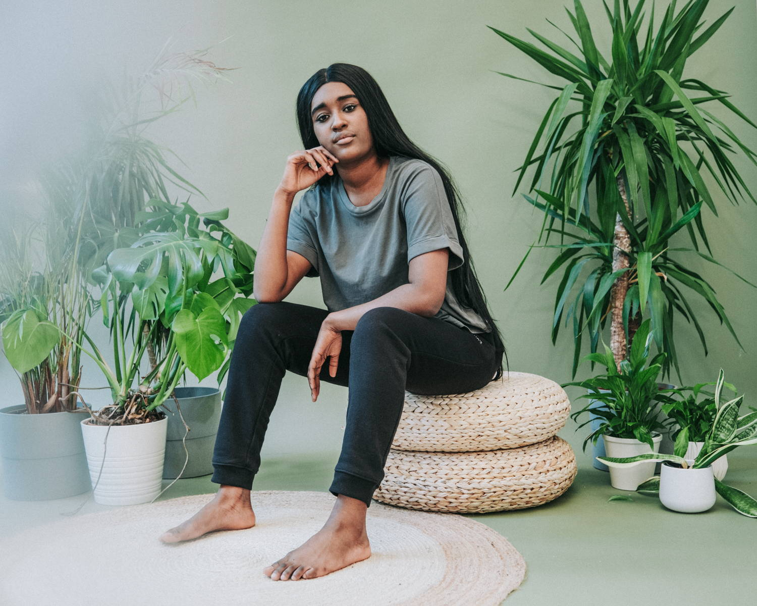 Shop the collection of sustainable and ethically made organic cotton lounge wear, perfect for working from home or lounging on the weekend. Shop the collection now at Sancho's, the home of sustainable fashion in Exeter, UK.