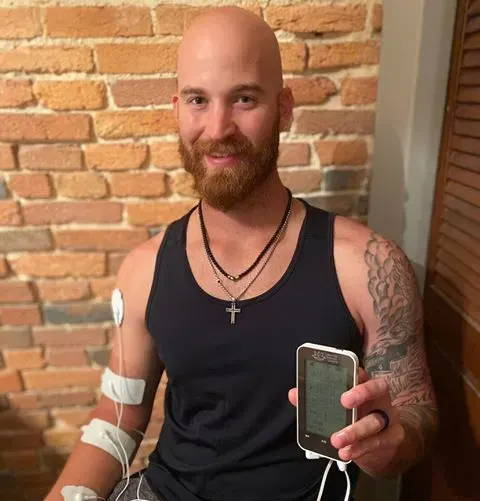 Baltimore Orioles, professional pitcher, cody carroll, TENS for baseball recovery, muscle soreness