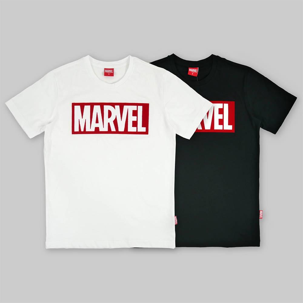 marvel logo t-shirts