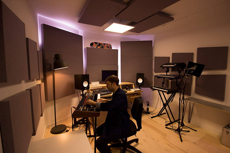 Acoustic Treatment for Home Recording Studios