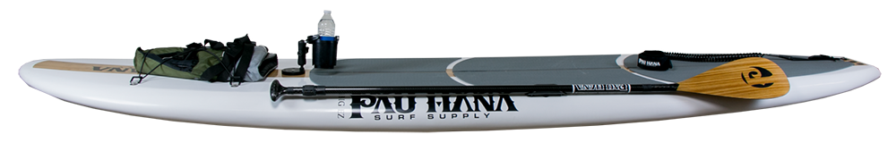 Big EZ All Around SUP rigged out with the Pau Hana Recreational Kit
