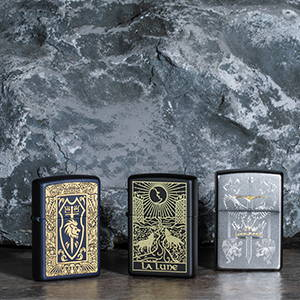 Zippo Medieval Inspired Designs