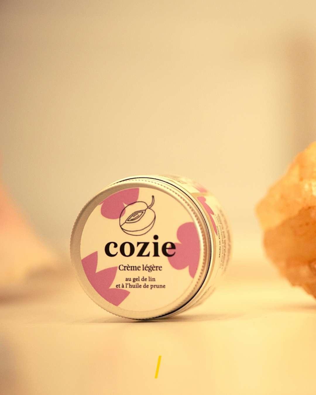 La creme de jour legere ecologique - Cozie