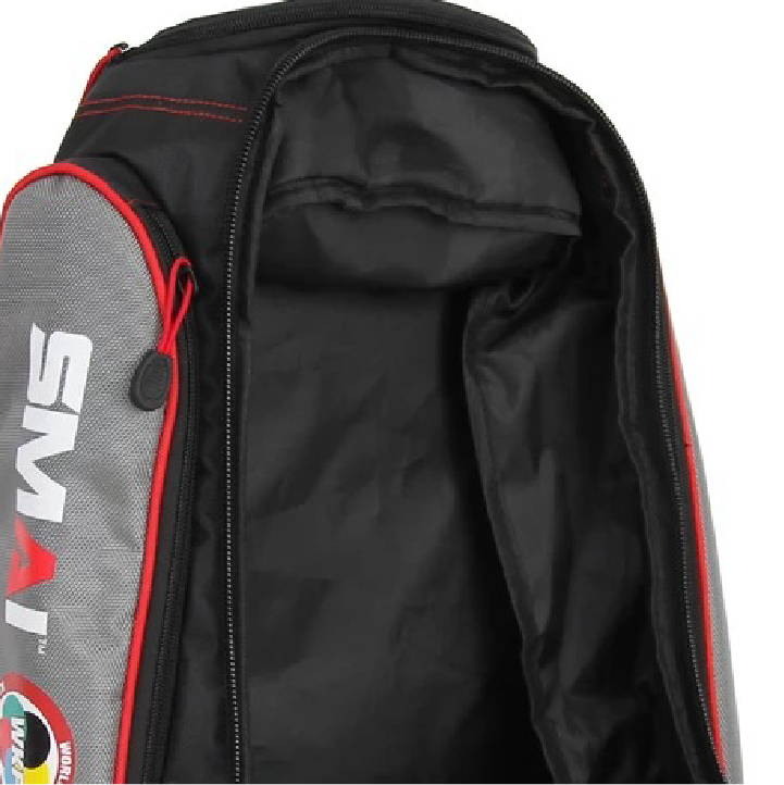 thermal lined compartment world karate federation performance backpack