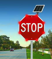 LED-Enhanced Stop Sign