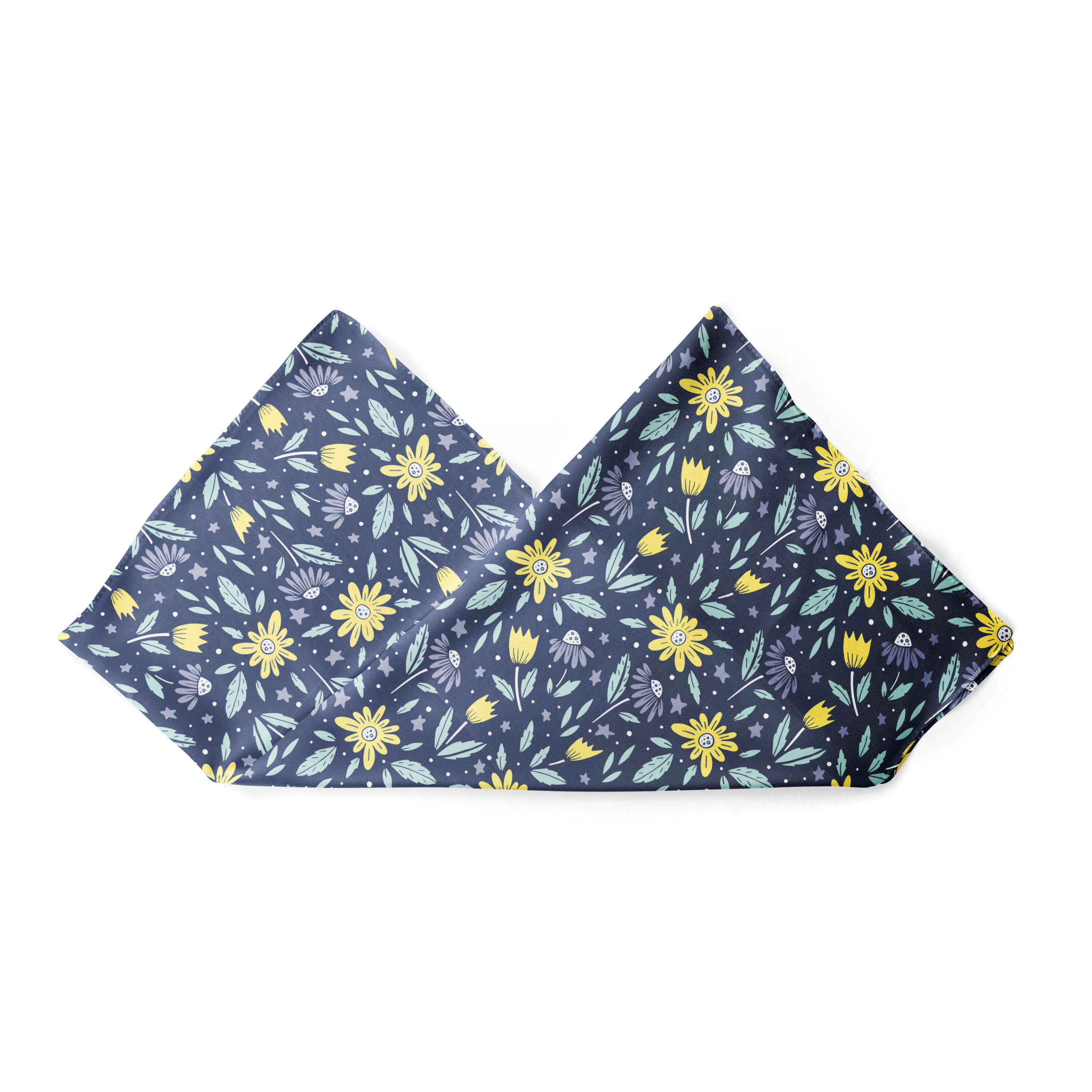 Banana Bandanas Moonflower dog bandana alternative photo