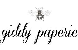 Giddy Paperie Logo