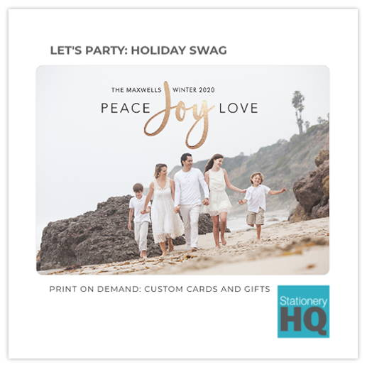 Holiday Gift Brochure
