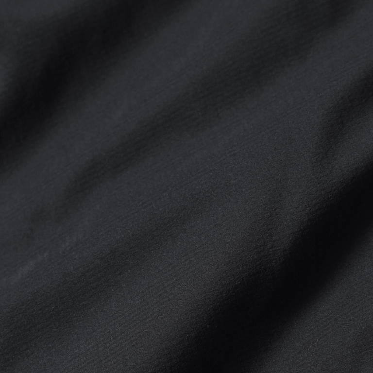 andwander(アンドワンダー)/トップフリースジャケット/ブラック/UNISEX