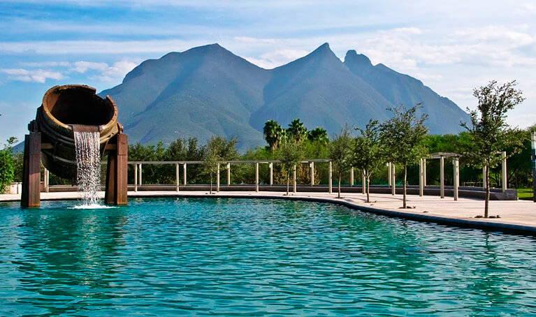 Foto del paisaje de Nuevo Leon