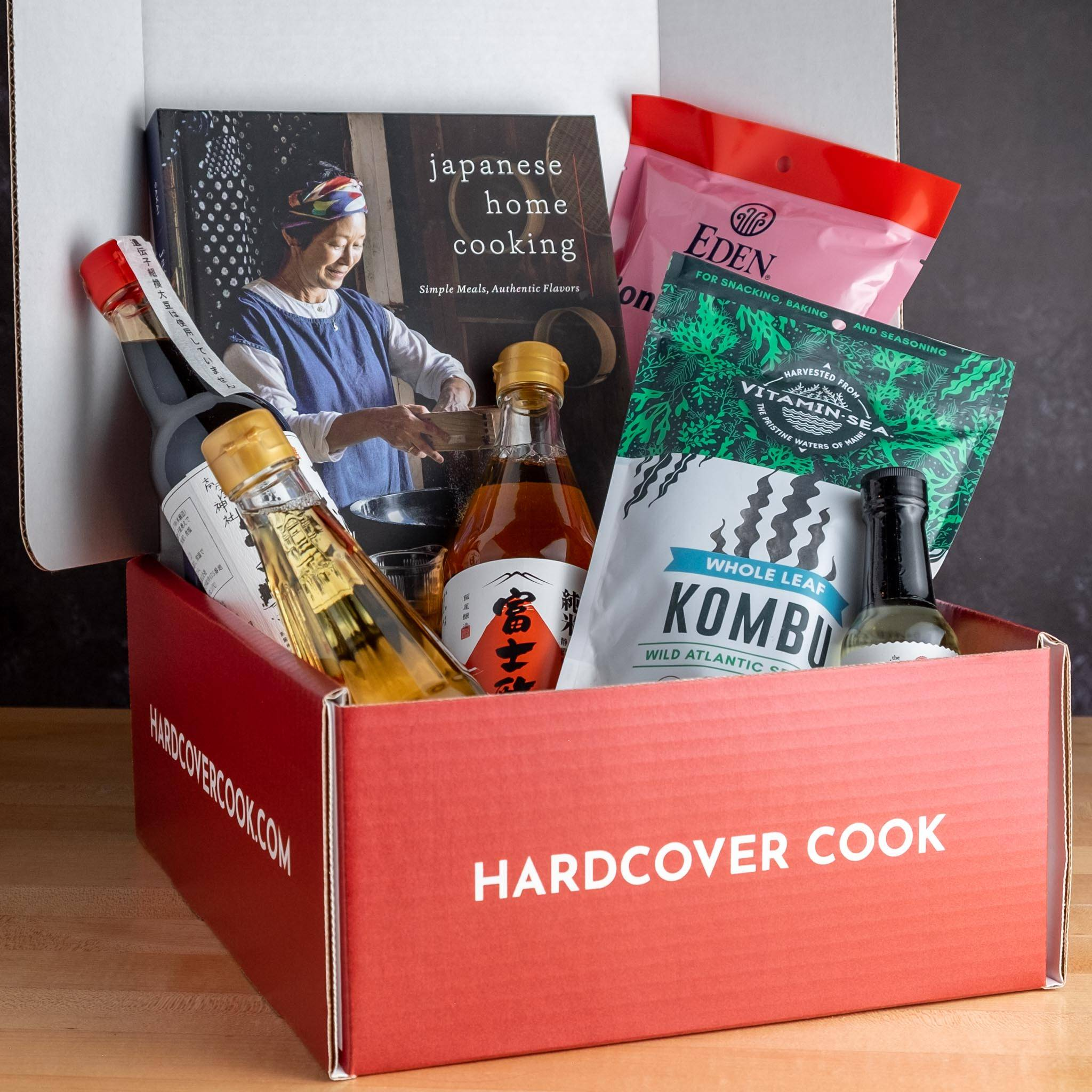 Hardcover Cook Subscription Box