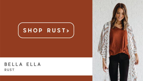 shop rust orange green fall colors