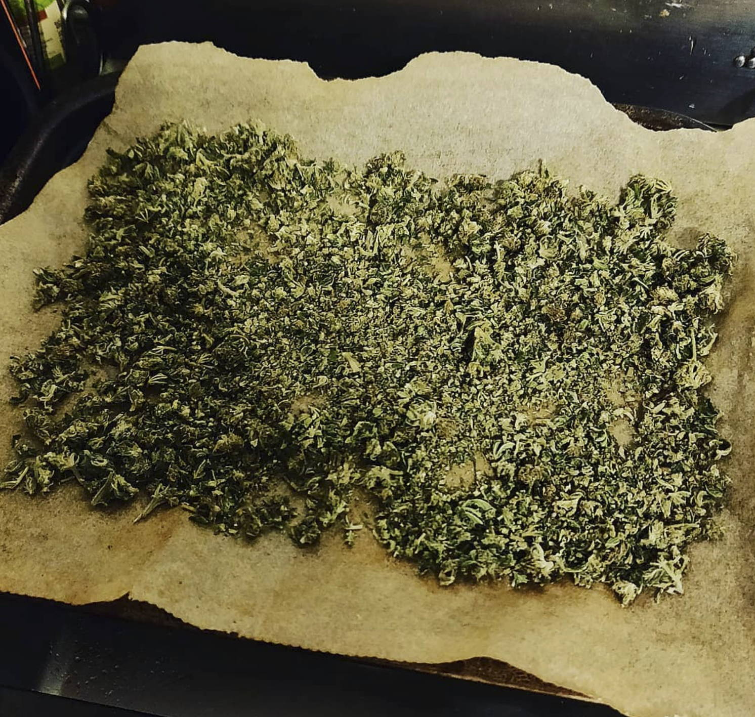 Decarboxylation of Hemp