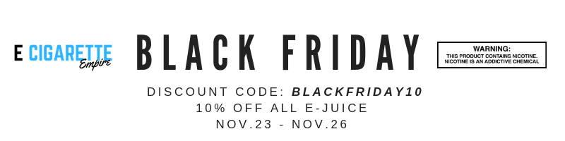 Black Friday E Juice Sale