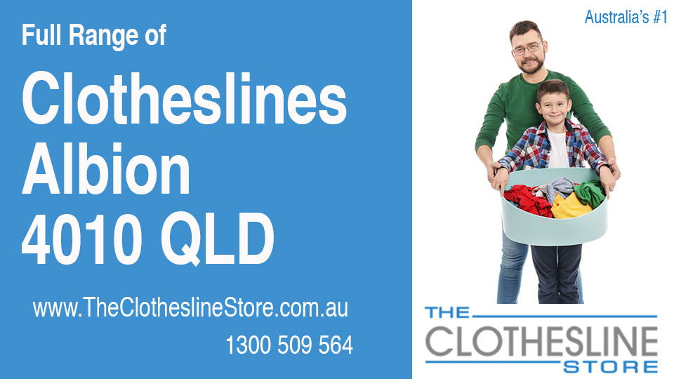 New Clotheslines in Albion Queensland 4010