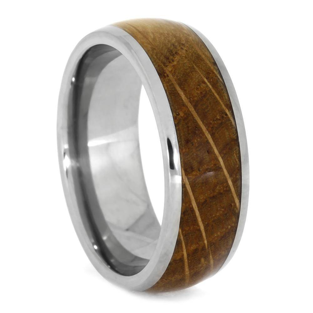 Whiskey Barrel Oak Wood Ring