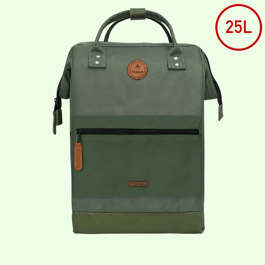 maxi backpack green