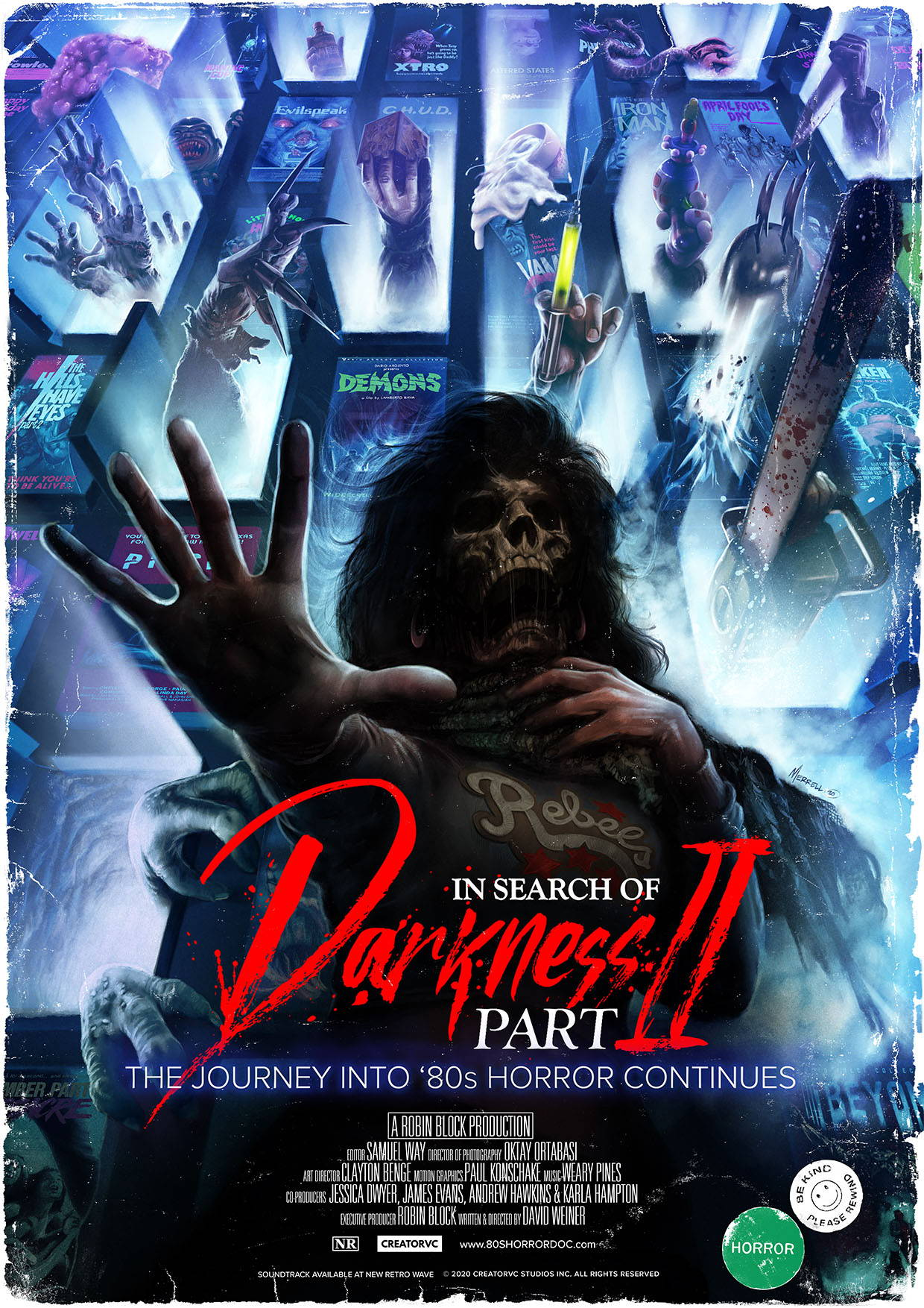 In Search of Darkness Part II Poster 2