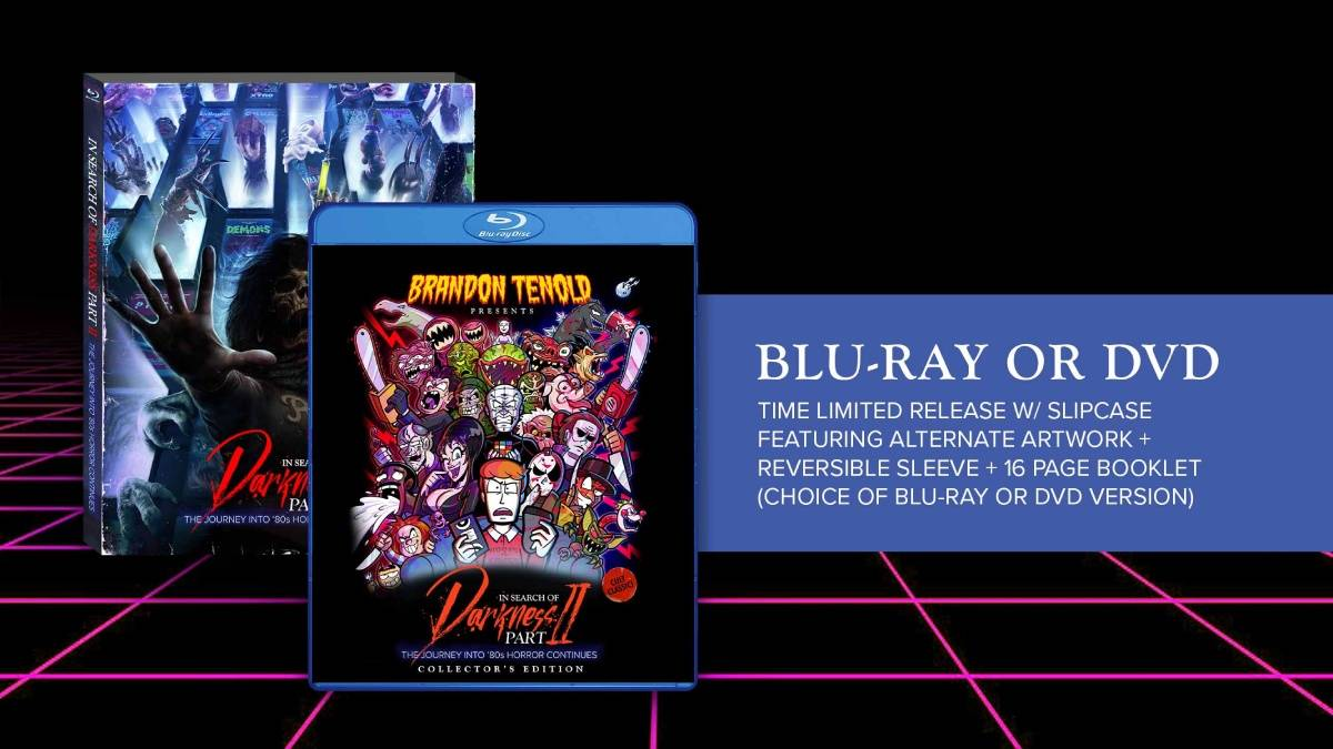 In Search of Darkness: Part 2, Brandon Tenold collector's edition Blu-ray boxart