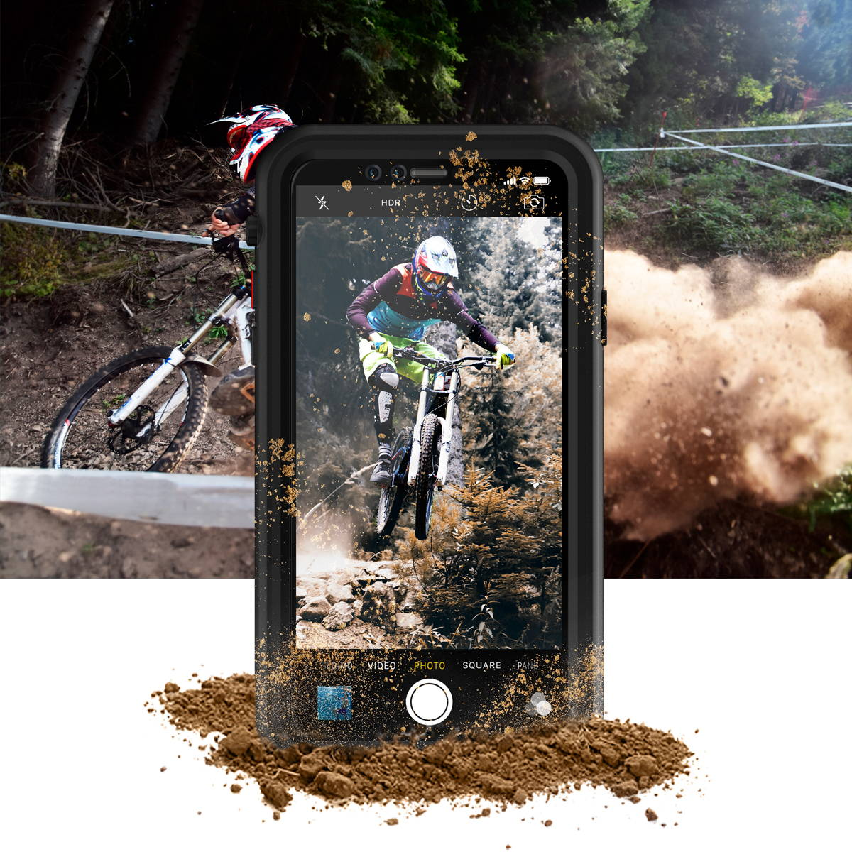 hitcase splash for adventurous moments