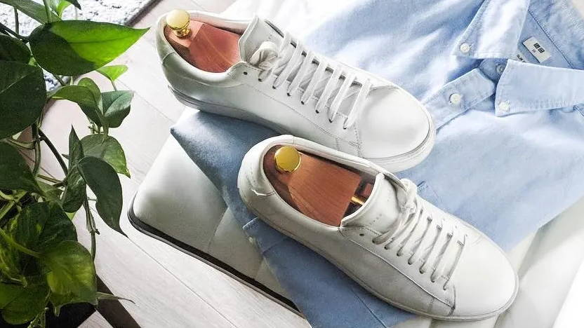 Oliver Cabell White Leather Sneakers Low 1