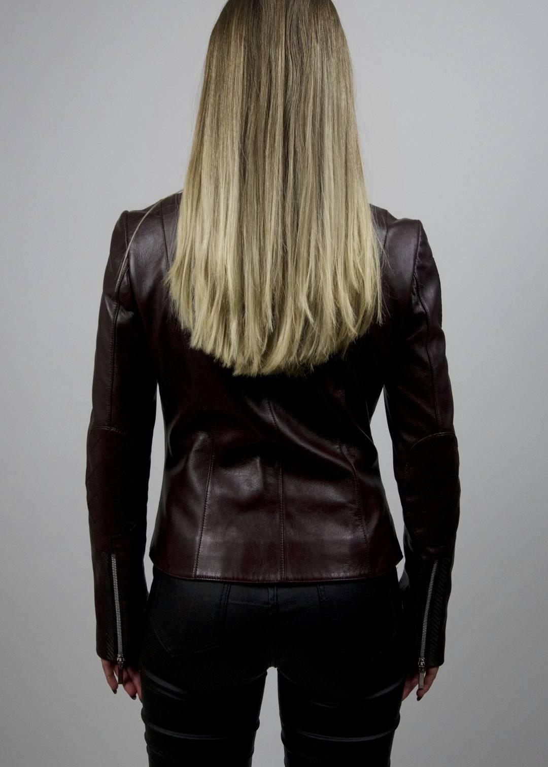 Carbonesque womens cheri leather jacket