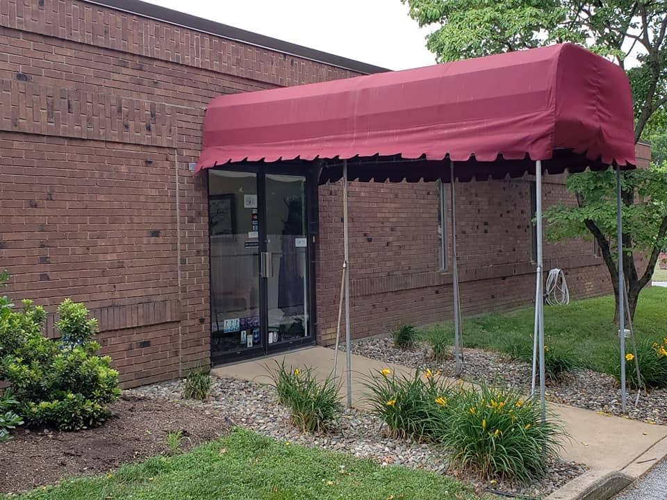 delaware registered agent   front door of office building