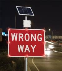 Wrong-Way Alert System