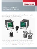 Brochure Edwards Passive gauges
