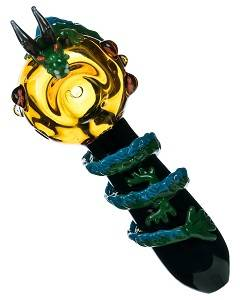 Legend of Zelda Dragon Wrapped Spoon Pipe for Gamers at DopeBoo.com