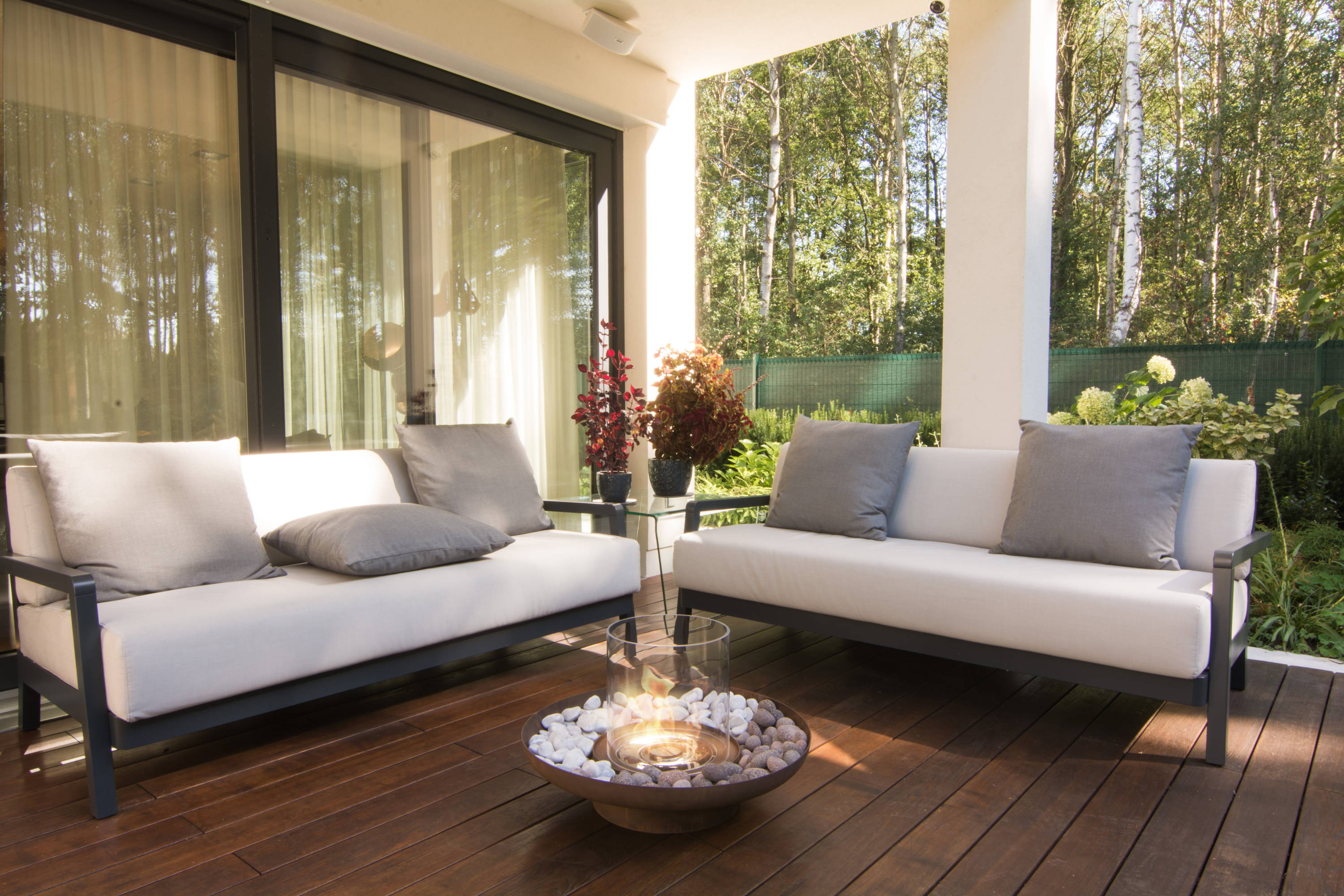 Outdoor Ethanol Fireplaces The Modern Fire Pit