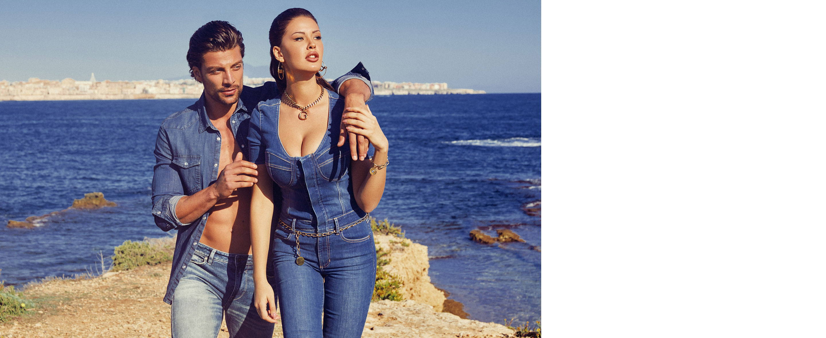 GUESS Sicily Spring apparel collection