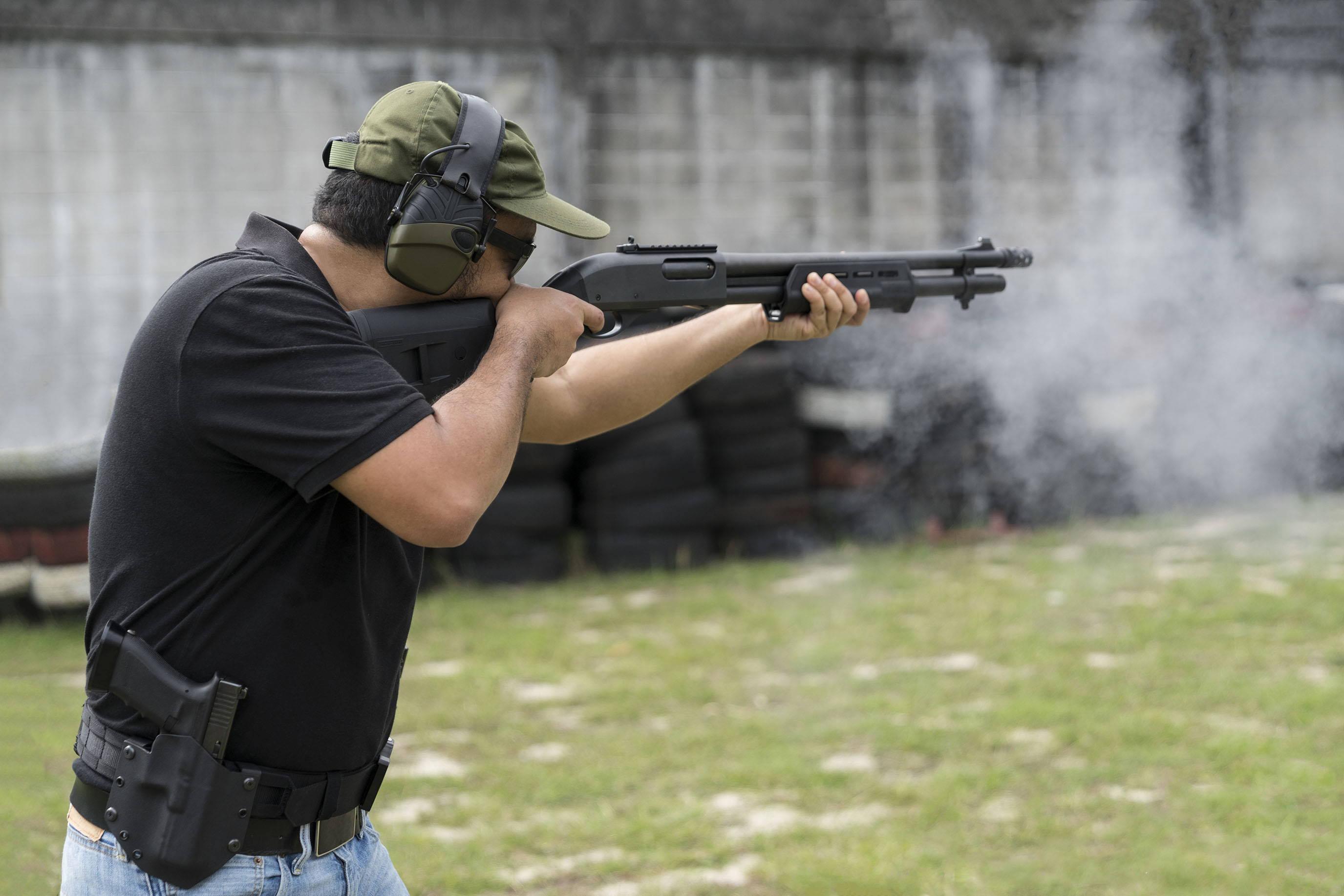 Training with a Shotgun