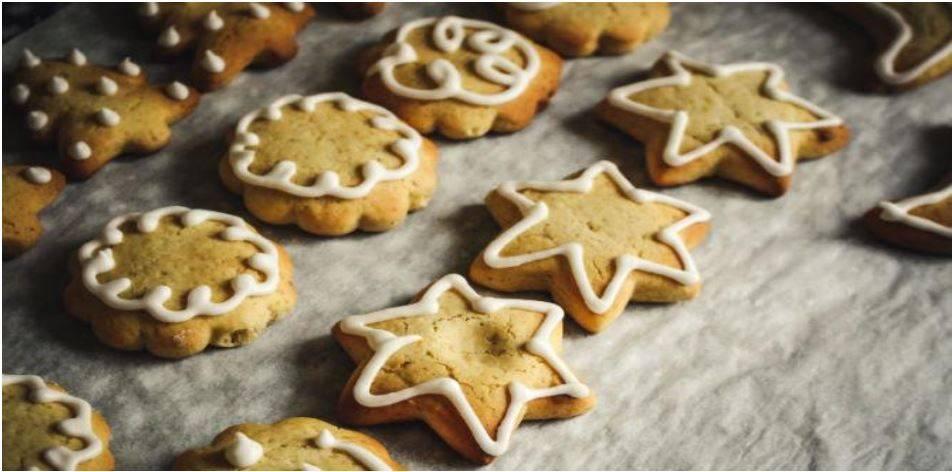 Vegan Chewy Holiday Cookies