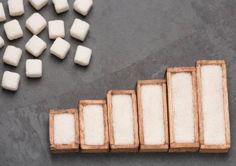 Tägliche Zuckeraufnahme ist höher als die Zufuhrempfehlungen