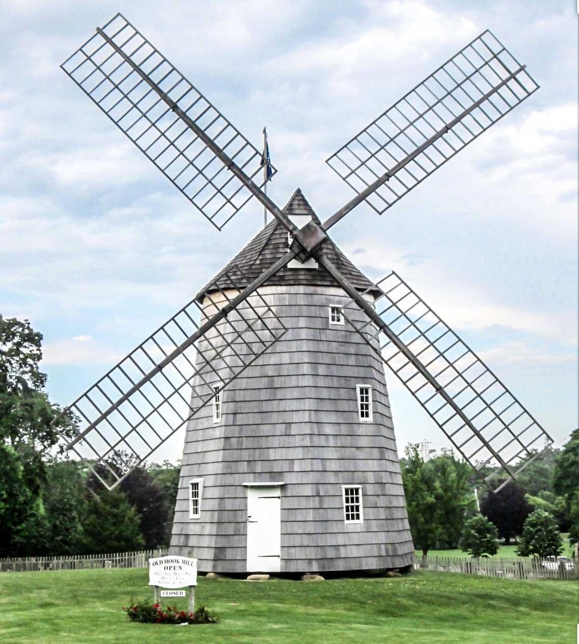 Windmill In The Hamptons