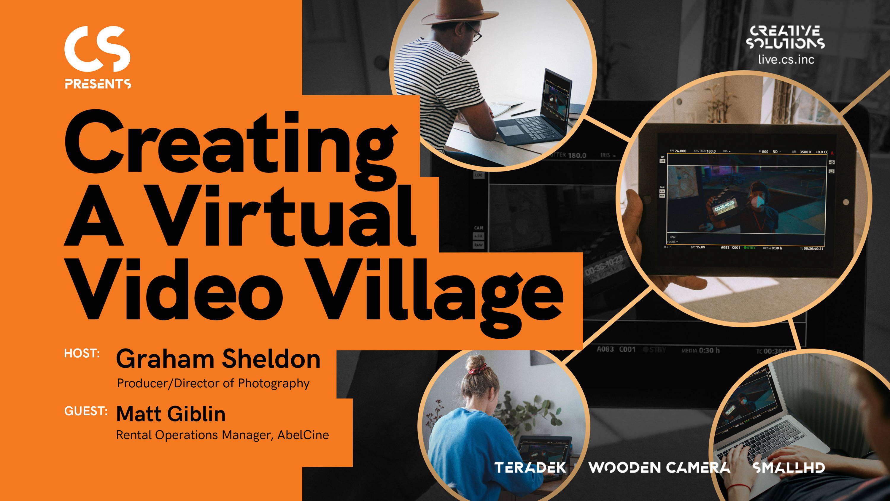 Watch LIVE Thursday, Sep 17th-CREATING A VIRTUAL VIDEO VILLAGE