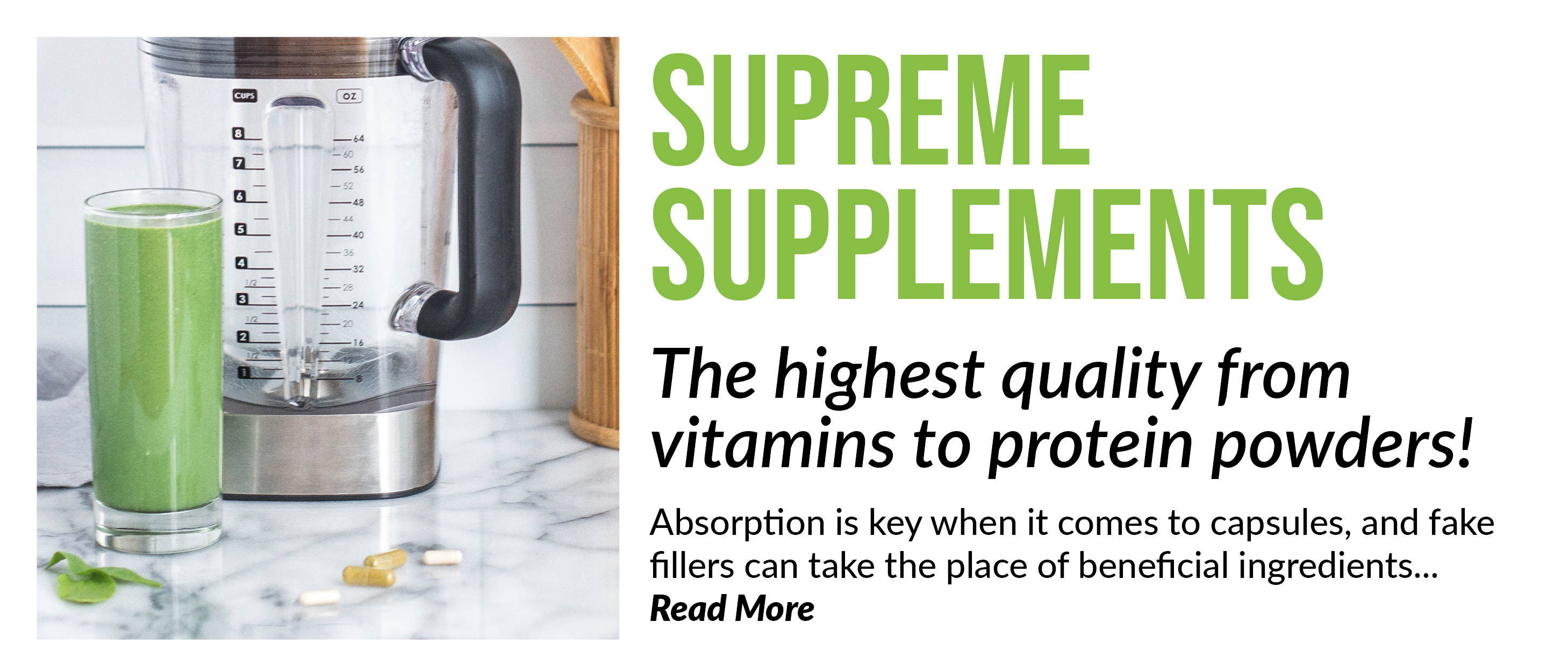 Safe supplements