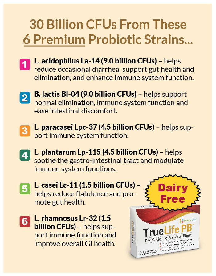 TrueLife PB - The 5 Questions You Need to Ask Before Taking a Probiotic Supplement!