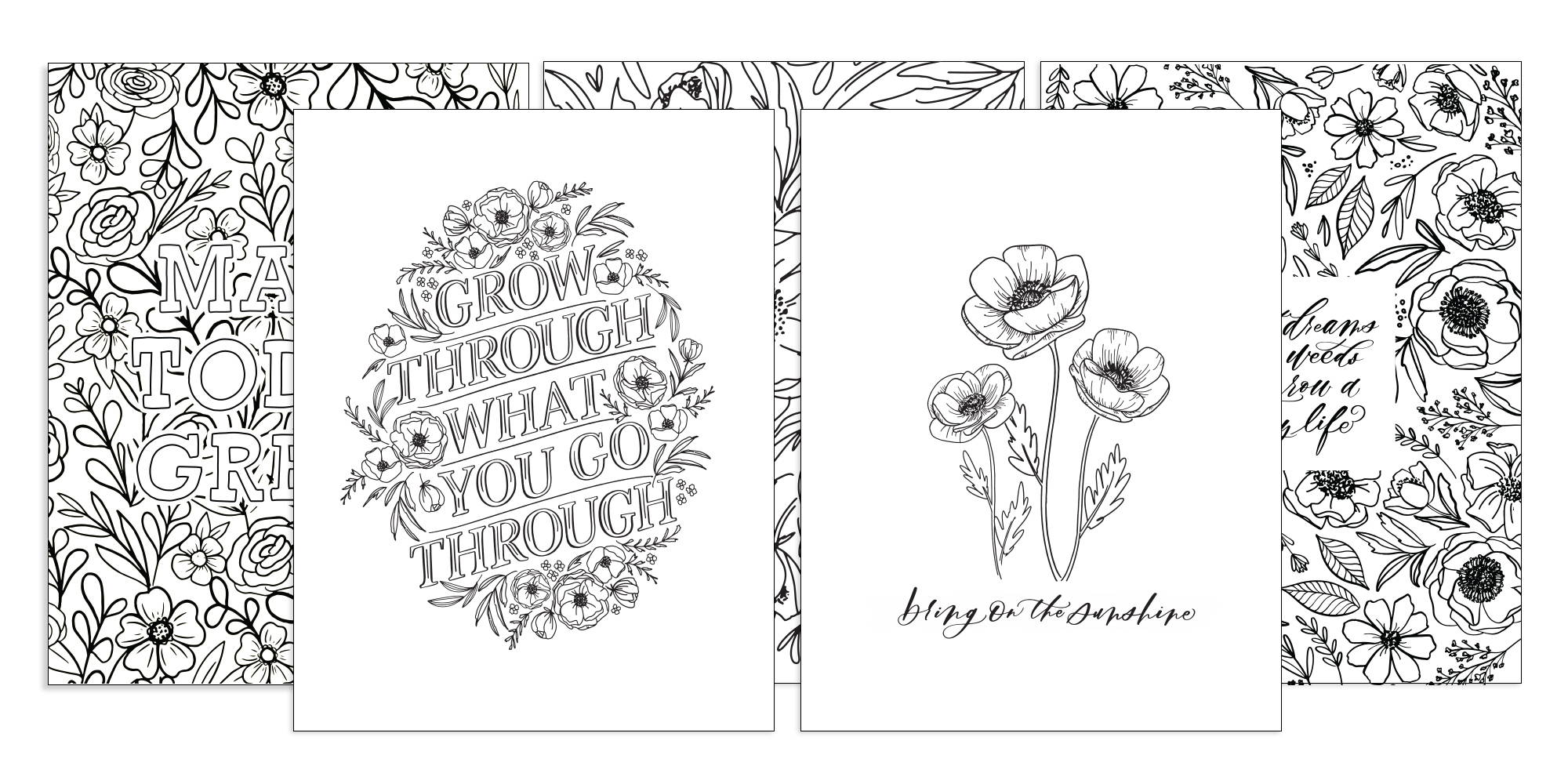 - Want More Happy Coloring Pages – The Happy Planner