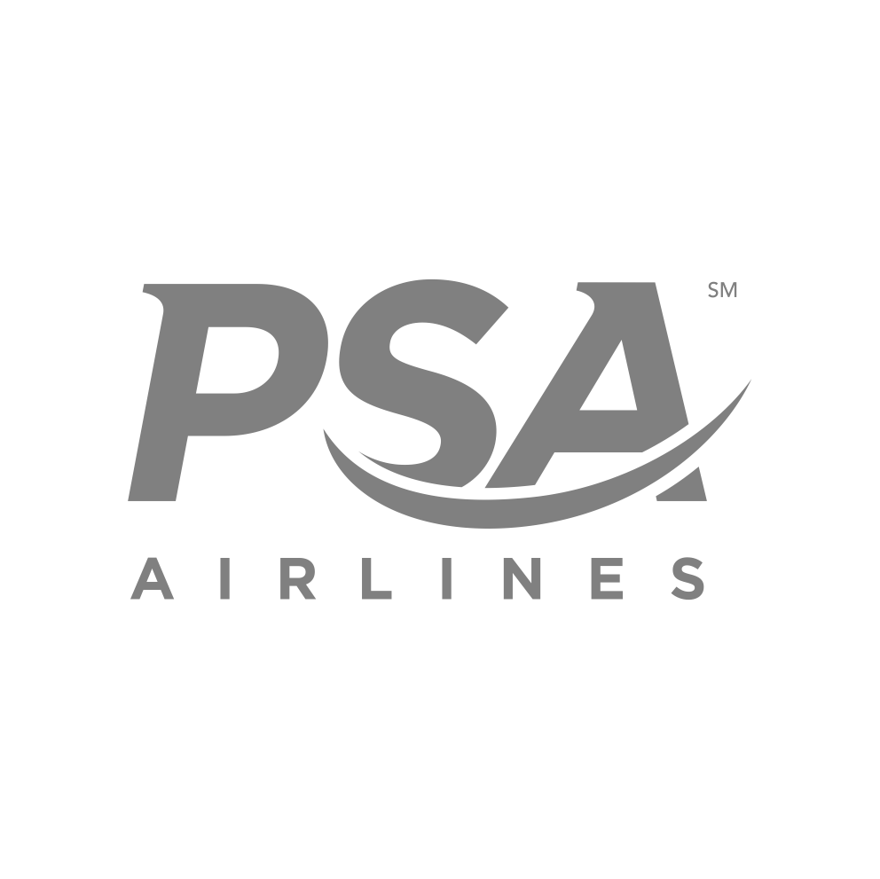 Engraving for PSA Airlines
