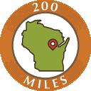 200 Miles