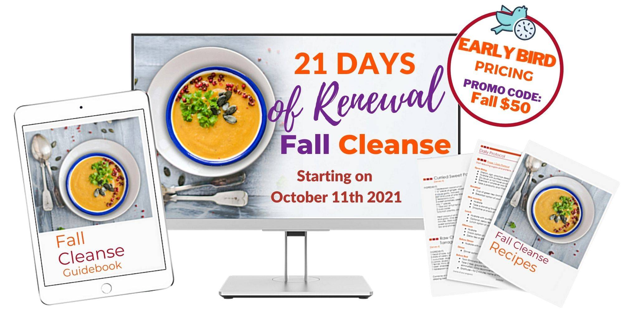 21 days of renewal fall detox monica paz nourished functional nutrition