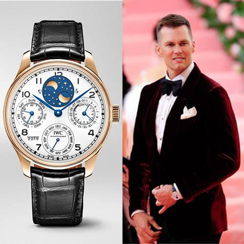 IWC Timepiece and Tom Brady