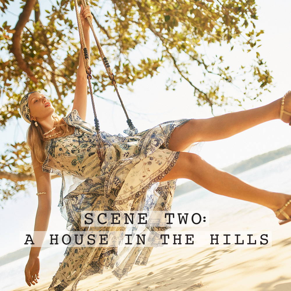 Scene Two: A house in the hills