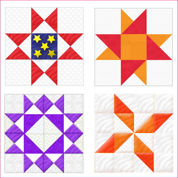 Resizing 9 and 16-patch quilt blocks will be a breeze with Finished-Size Quilting by Guidelines4Quilting. Make traditional quilt blocks any size. No Math.