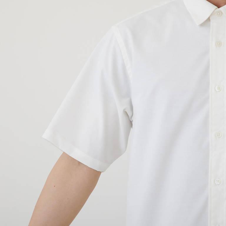 MXP(エムエックスピー)/ショートスリーブ オックスフォードボックスシャツ/ホワイト/MENS