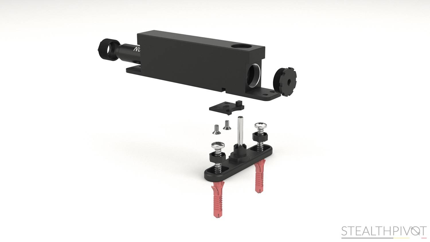 Stealth Pivot NL exploded view